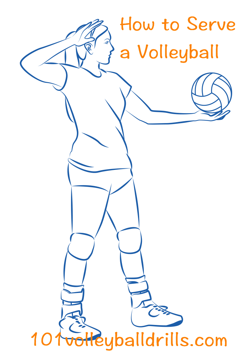 Give your team the. Clipart volleyball service