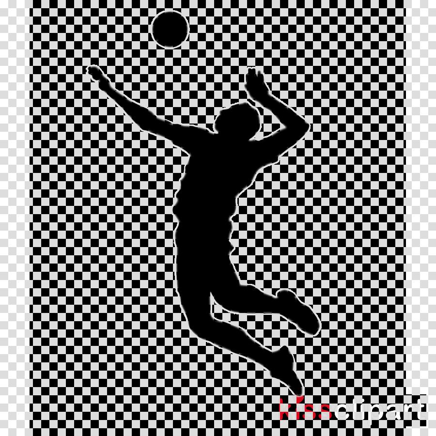 Sports men . Volleyball clipart sport