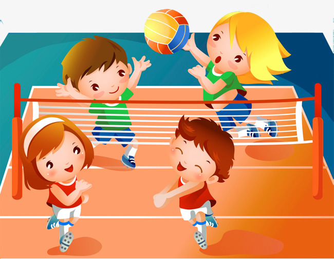 Volleyball clipart stadium. Download free png children