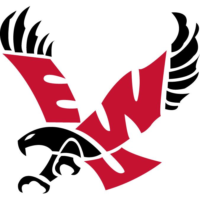 Eastern washington womens college. Volleyball clipart stencil