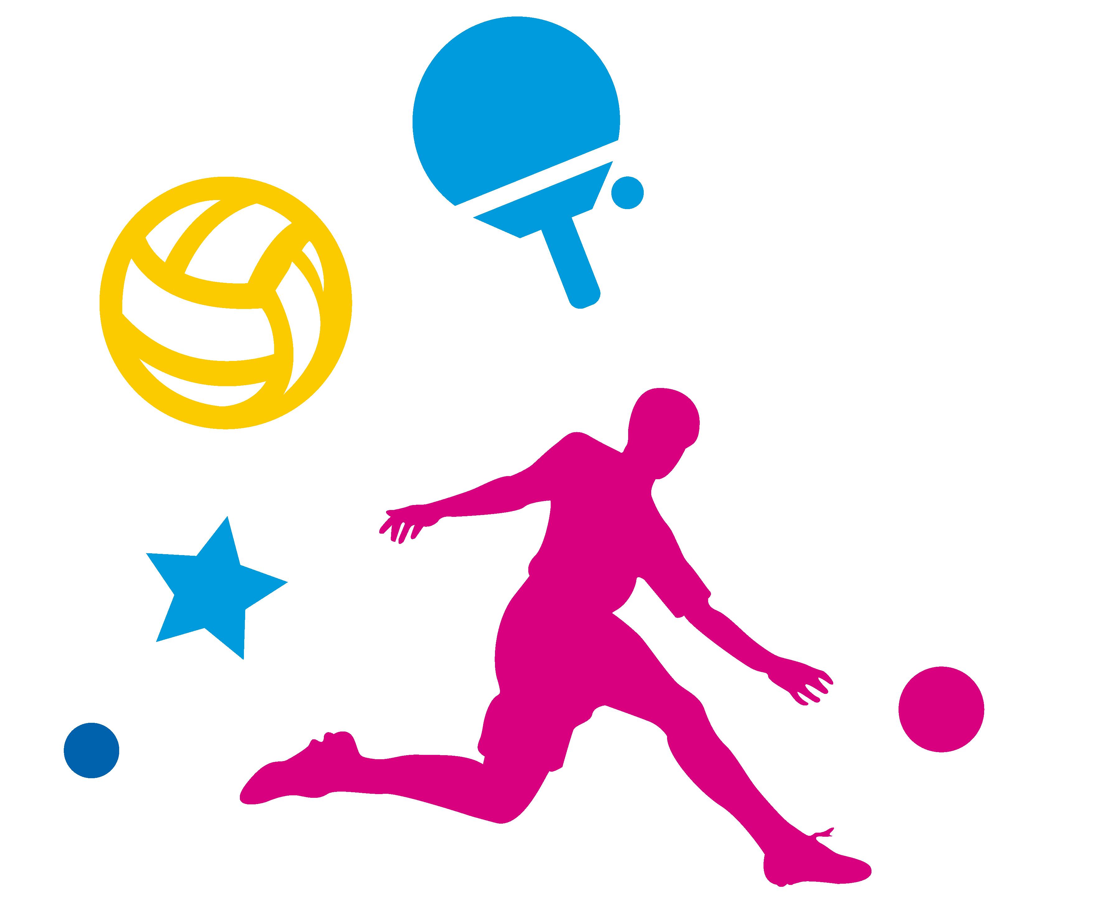 Clipart volleyball summer. Basketball silhouette clip art