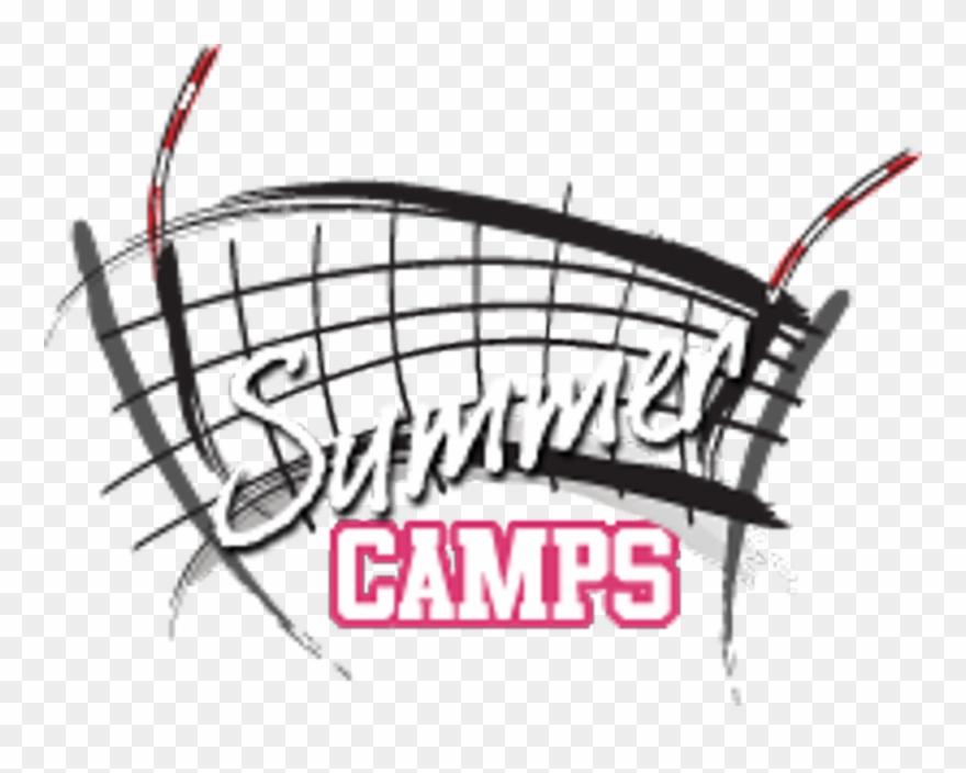 Clipart volleyball summer. Camp pinclipart