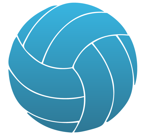 Volleyball clipart teal. Static cling custom window