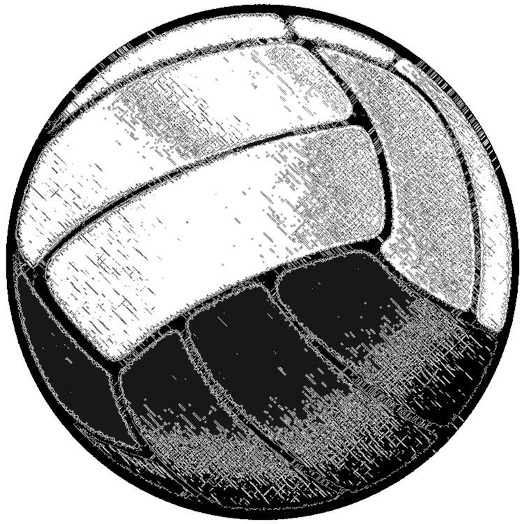 Clipart volleyball vintage. Football illustration transparent png