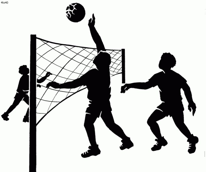 Clipart volleyball volleyball game. Images station