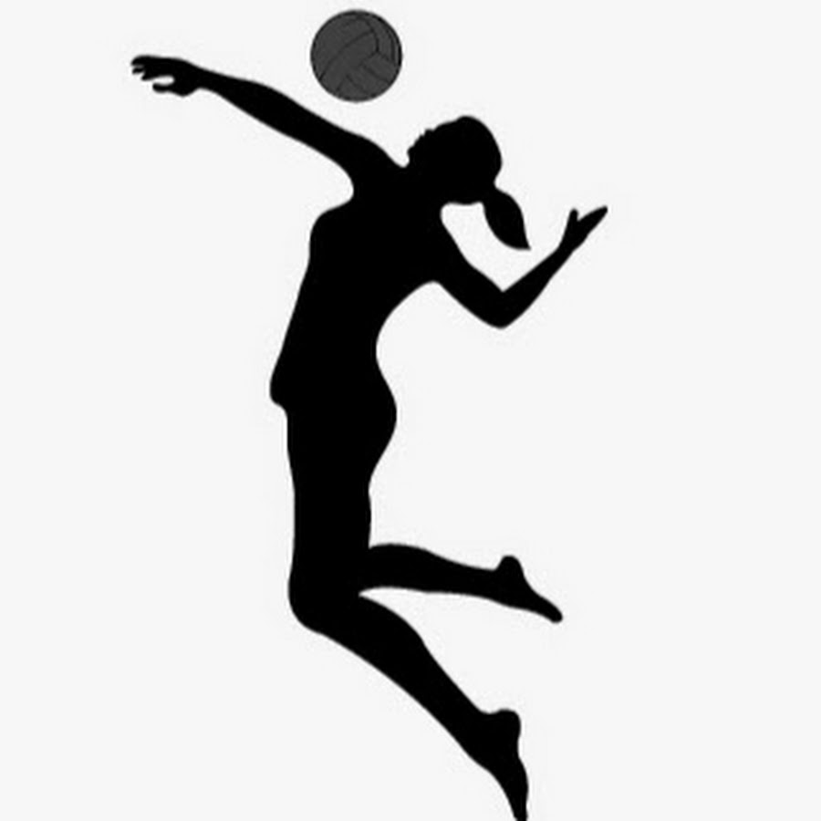 Download free png . Clipart volleyball volleyball hitter