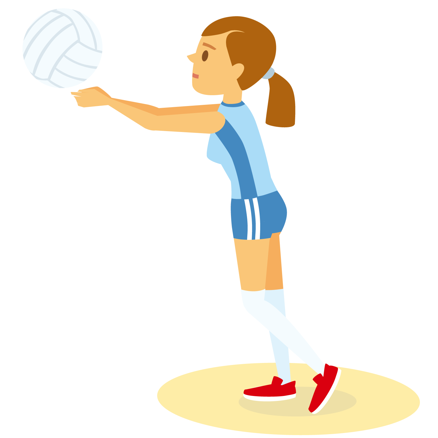 Yesterday | LearnEnglish Kids | British Council |Volleyball Game Clipart