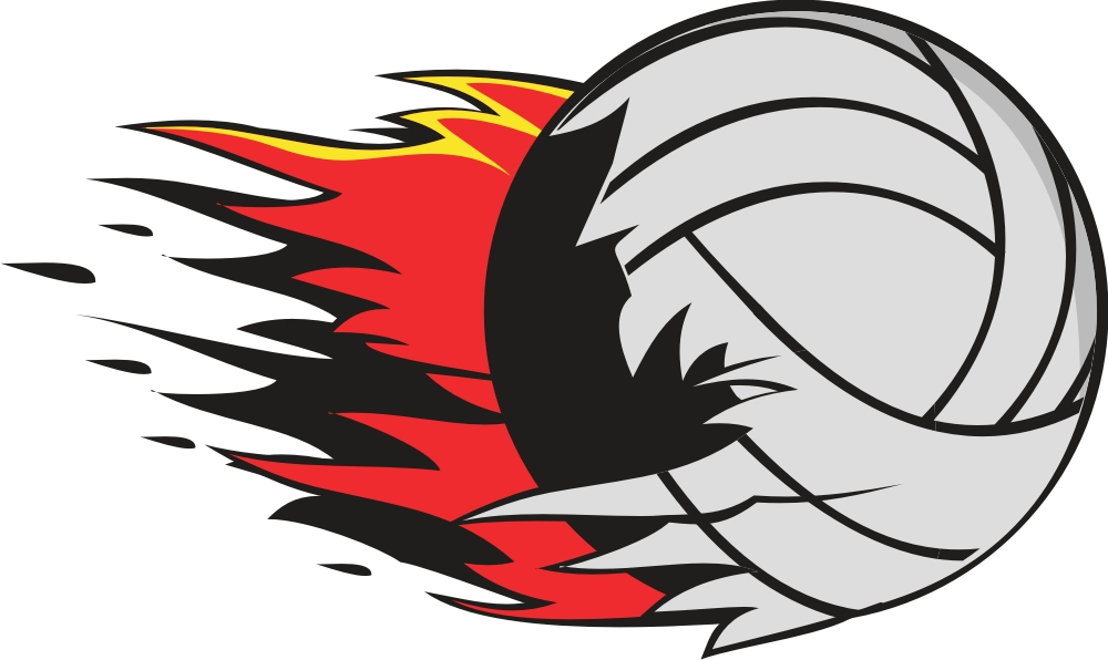 Bring the heat tournament. Volleyball clipart volleyball competition
