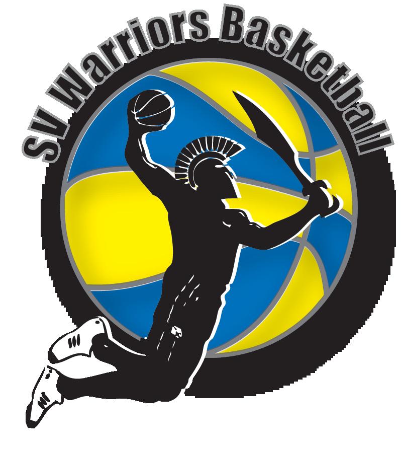 Volleyball clipart warrior. Sv warriors basketball