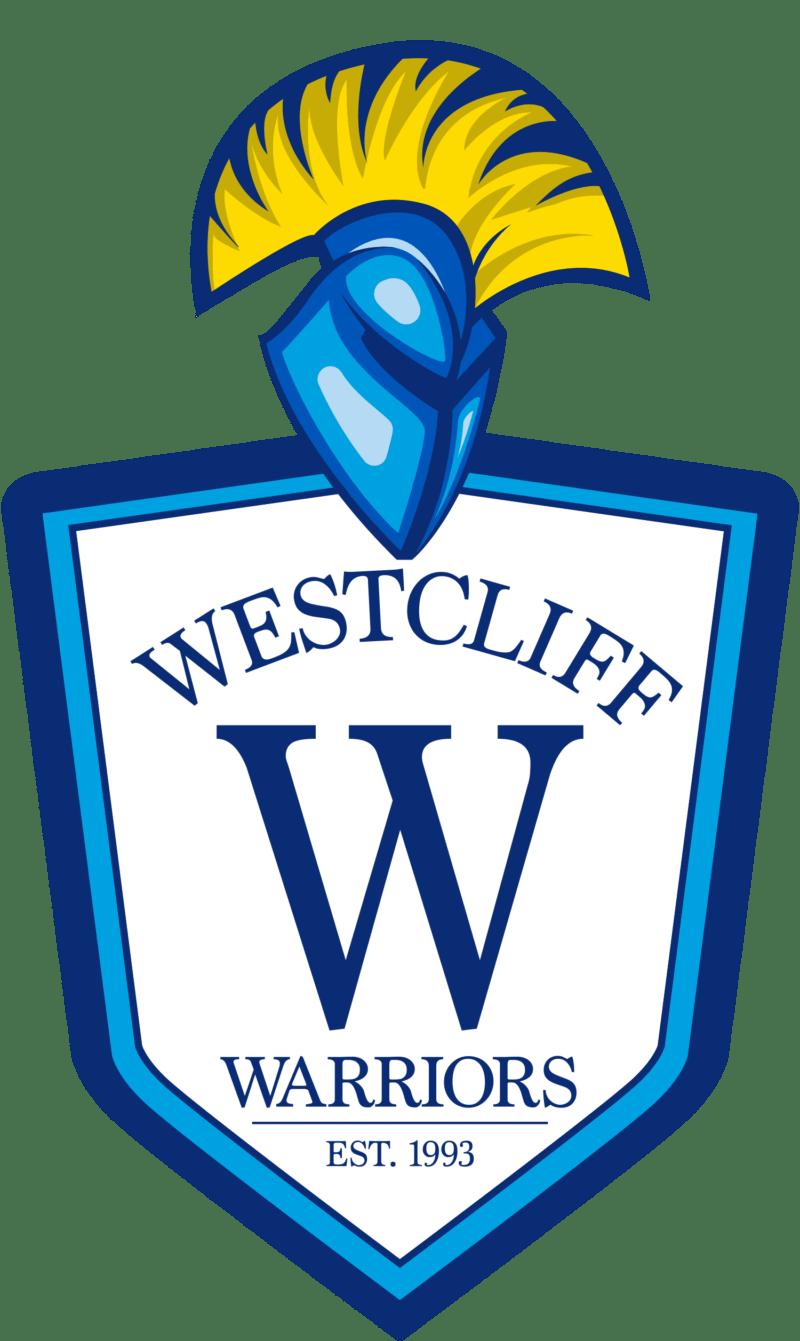 Volleyball clipart warrior. Logo introduced westcliff university