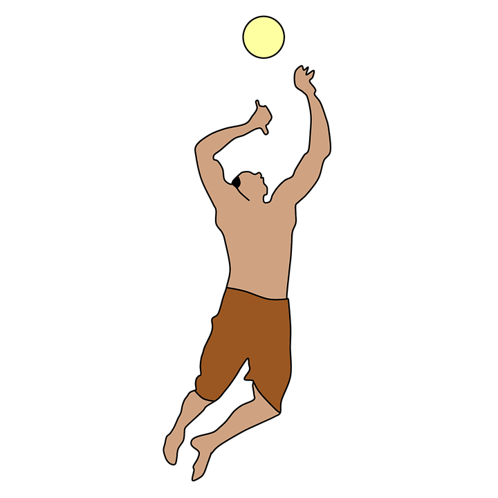 Collection of animated buy. Volleyball clipart child
