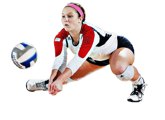 Png image purepng free. Volleyball clipart female volleyball player