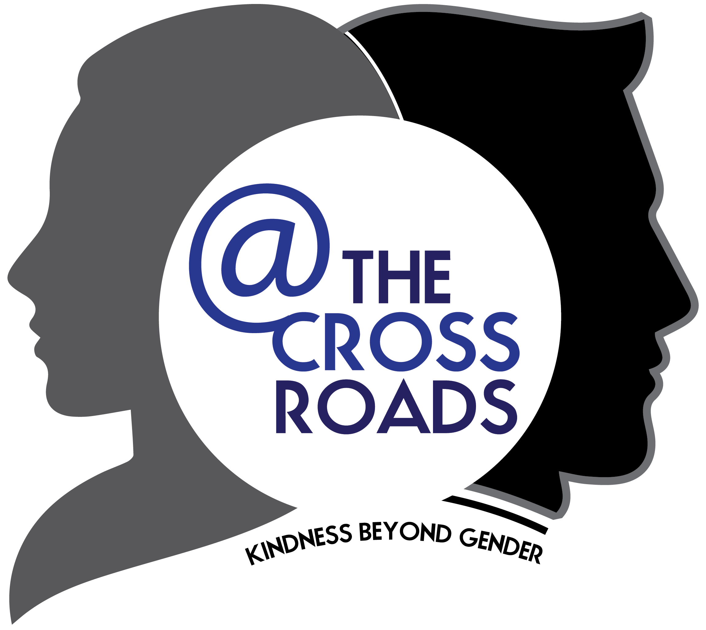 Clipart walking berjalan. The cross roads kindness