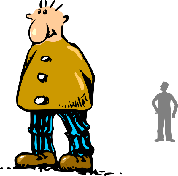 Tall clipart rate. Man clip art at