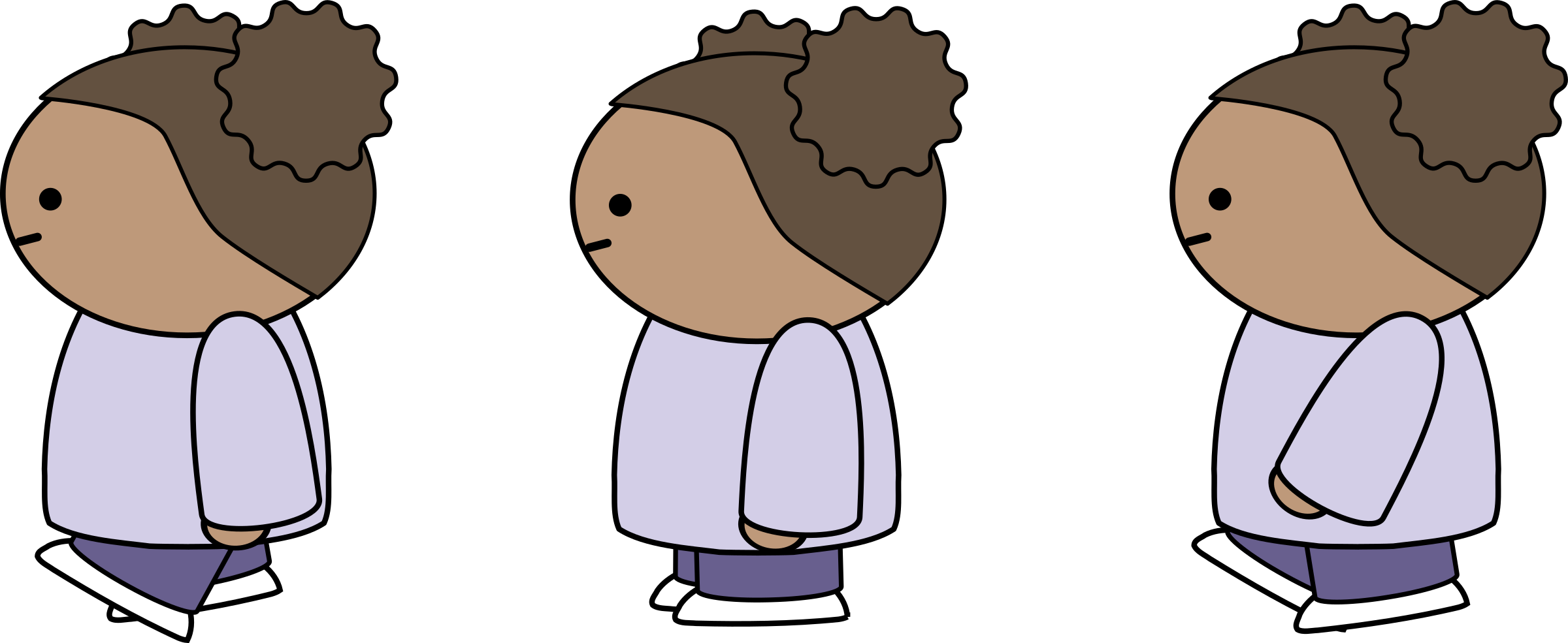 Lady clipart side view. Walking big image png