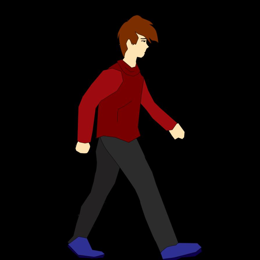 Clipart walking cartoon character. Animation walk cycle
