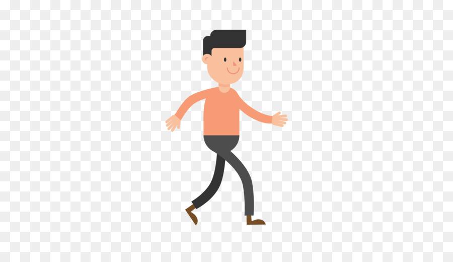 Clipart walking cartoon. Child illustration