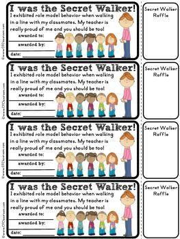 Secret walker a in. Clipart walking class line