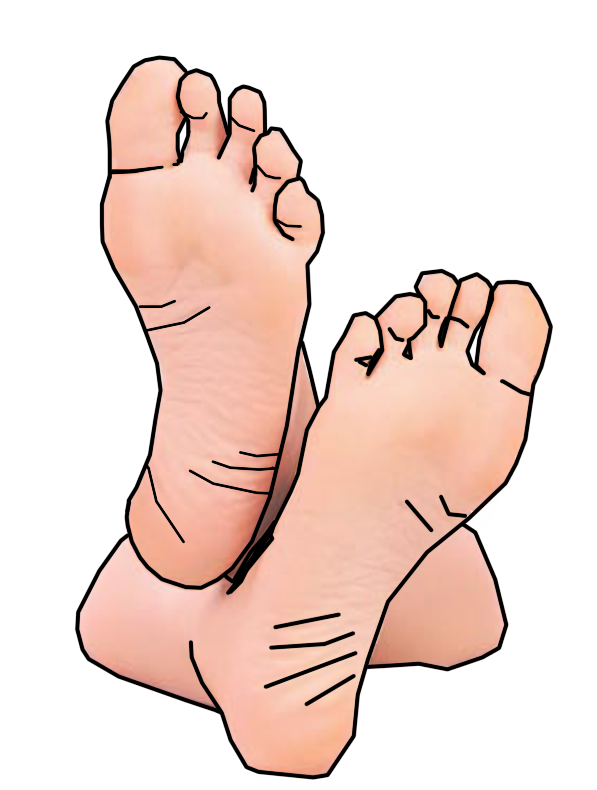 Clipart walking clip art. Free feet collection of