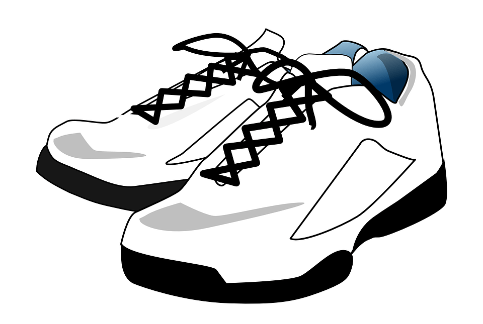 Skora fit running shoes. Clipart walking comfortable shoe