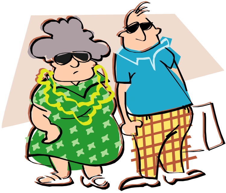 Couple clipart retirement.  collection of old