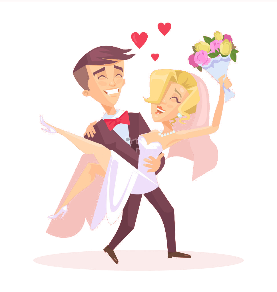 Clipart walking couple old indian. Marriage illustration couples people