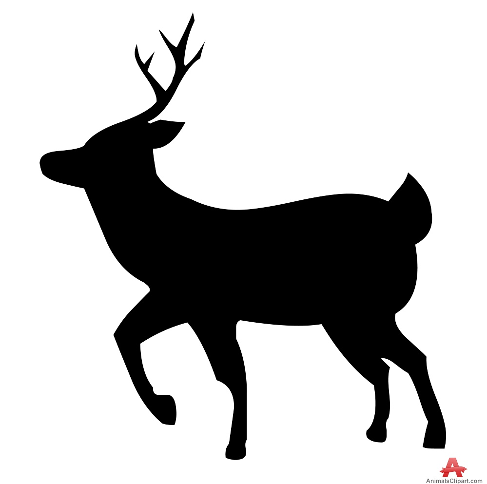 Deer clipart walking. Free cliparts download clip