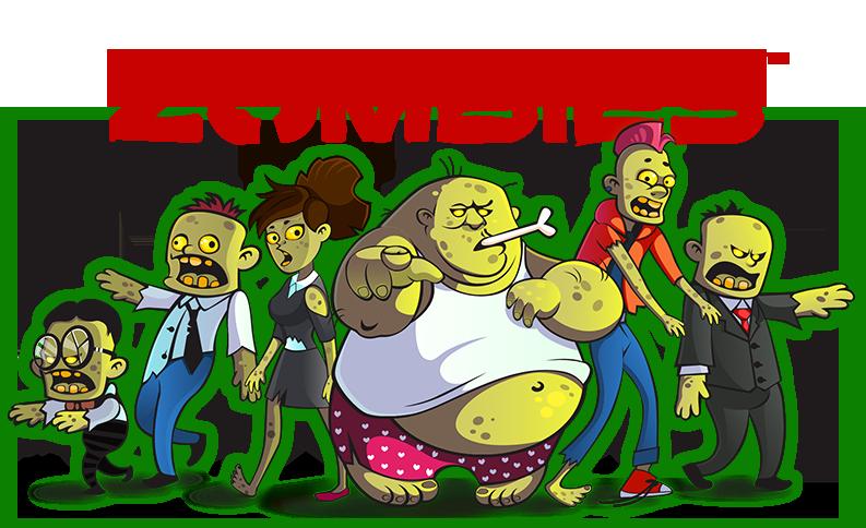 Corporate wellness walking challenges. Zombie clipart zombie horde