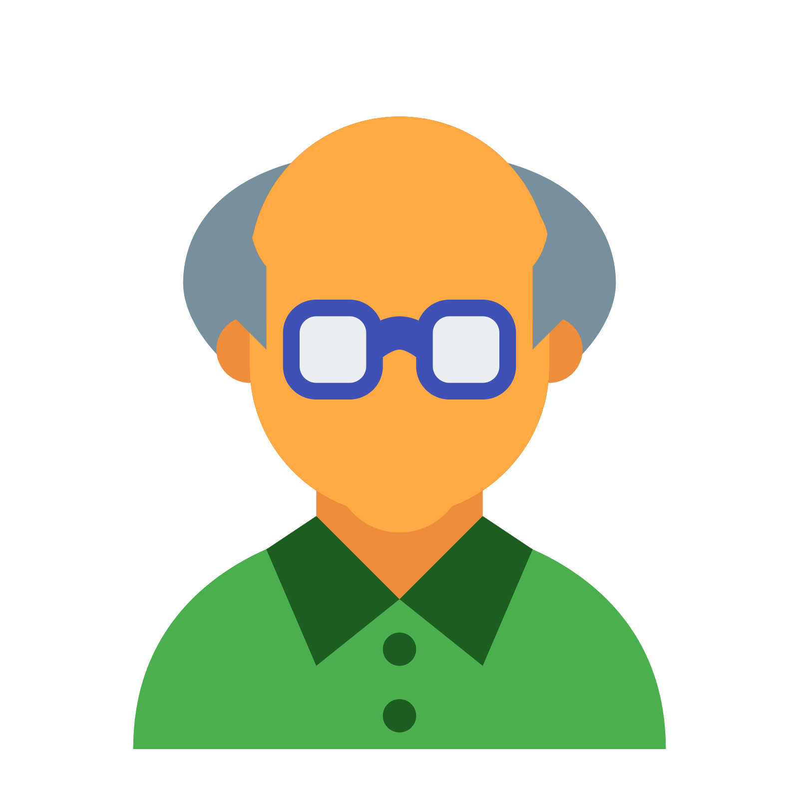 Senior icon free download. Old clipart aged person