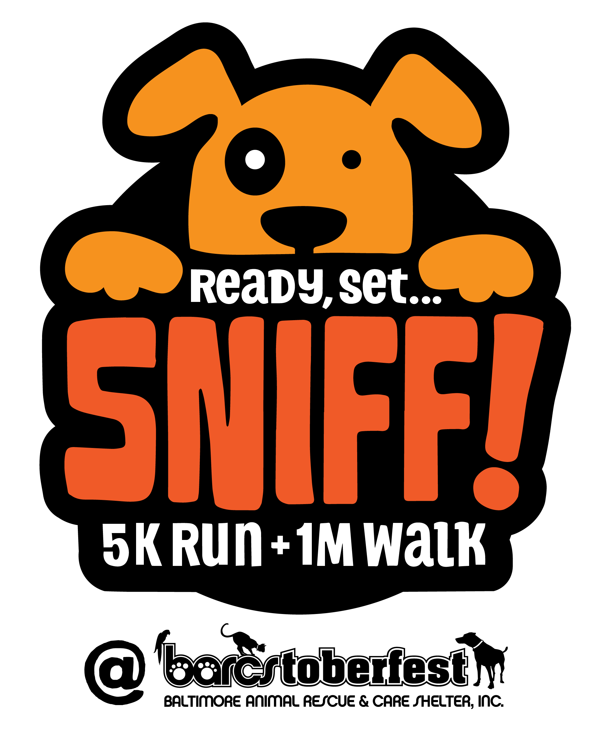 Ready set sniff k. Clipart walking jog in place