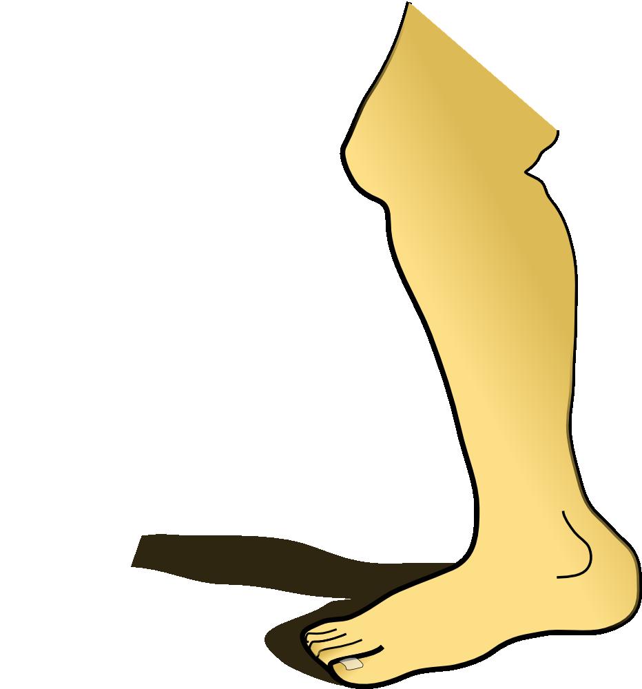 tall clipart short leg