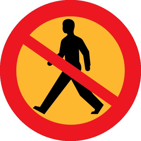 Walking logo