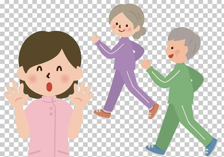 Old age disability health. Clipart walking longevity