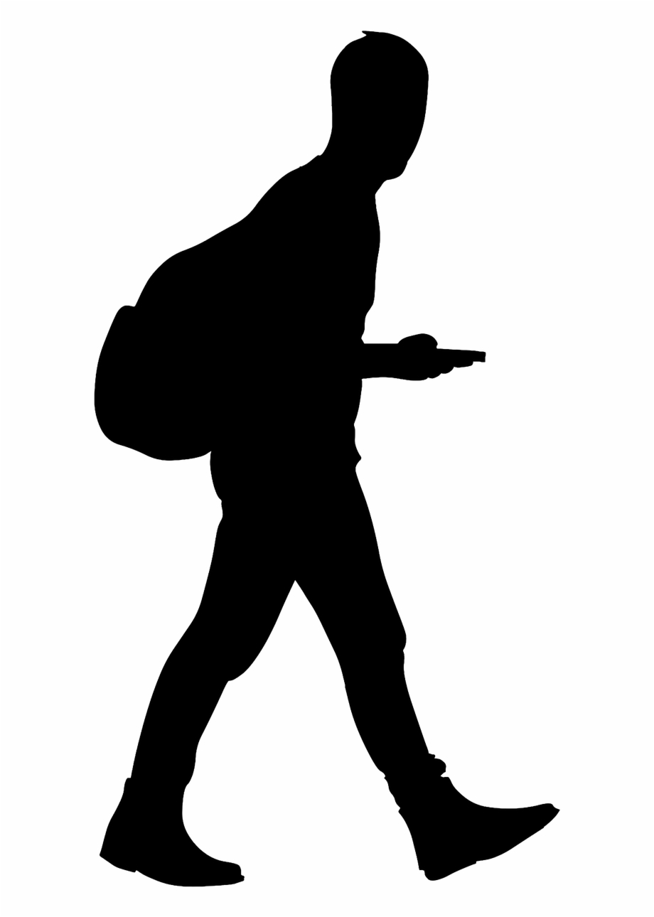 Clipart walking man illustration. Silhouette transparent