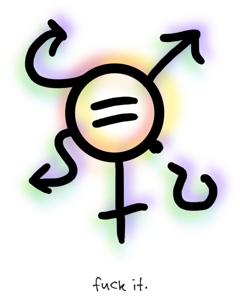 Gender and the in. Clipart walking masculine feminine
