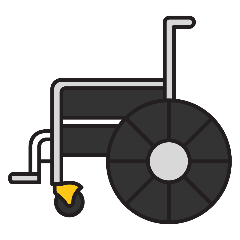 Medical equipment in lincoln. Clipart walking mobility
