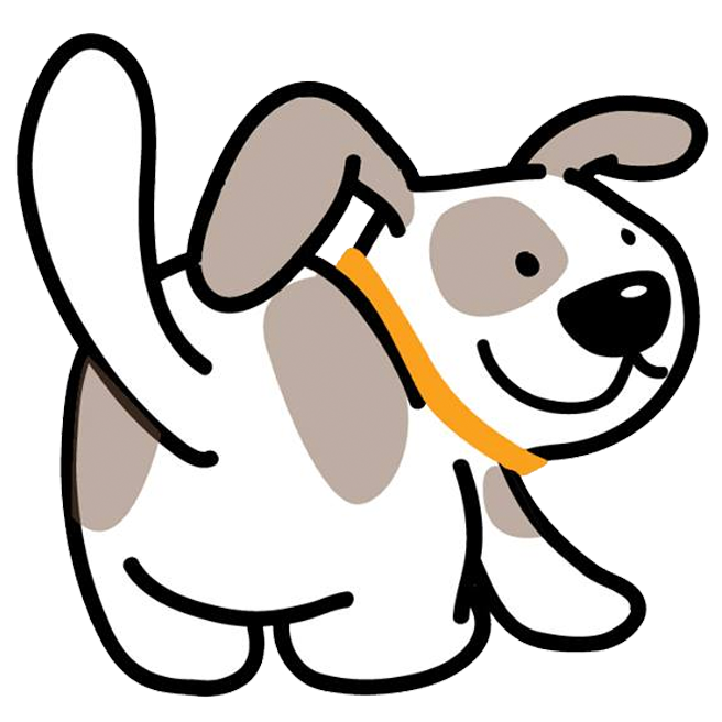 want clipart wag