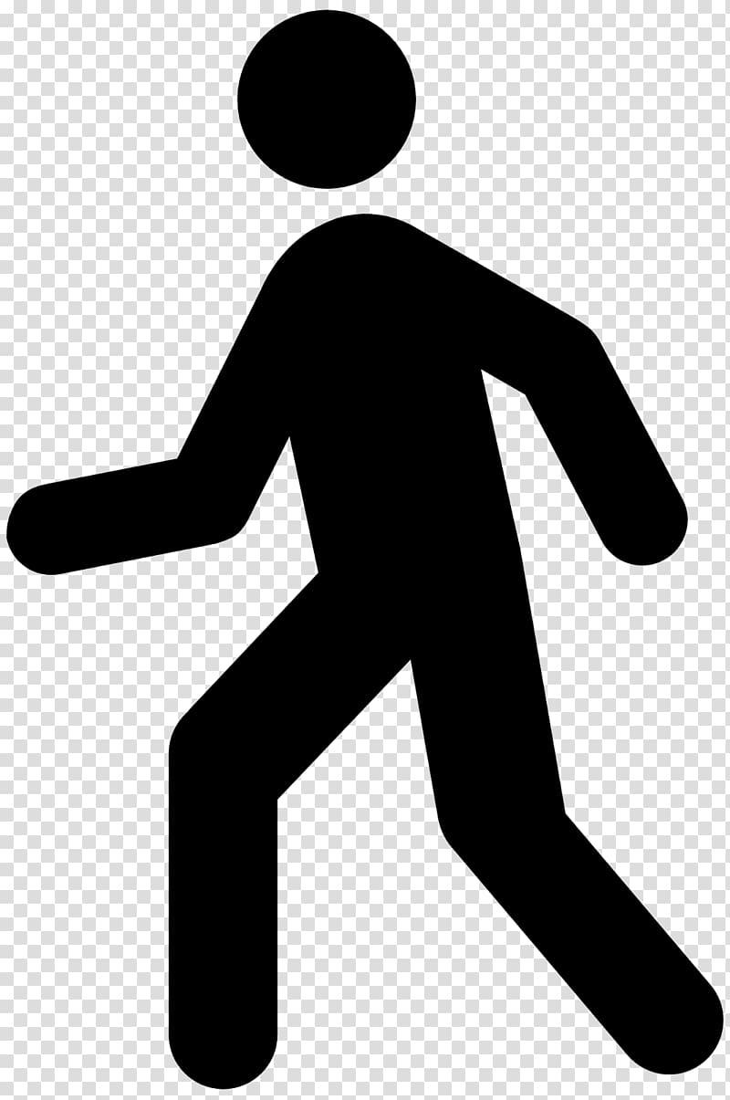 Transparent background png . Clipart walking pedestrian