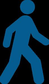 Clip art at clker. Clipart walking pedestrian