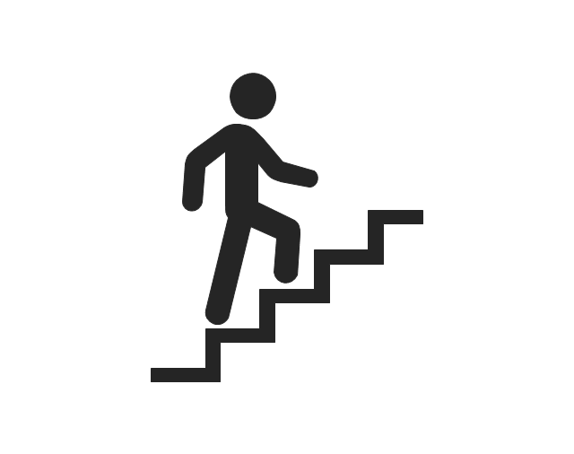 Person walking stairs clip. Up clipart staircase