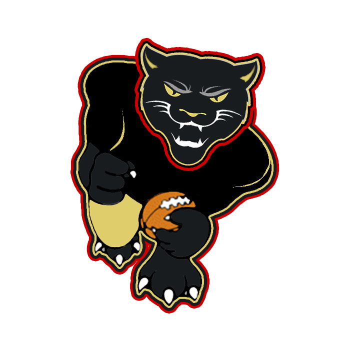Walker university rebrand and. Panther clipart track