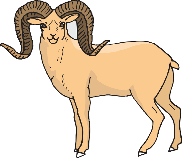 Big cliparts zone sheep. Horn clipart ram horn