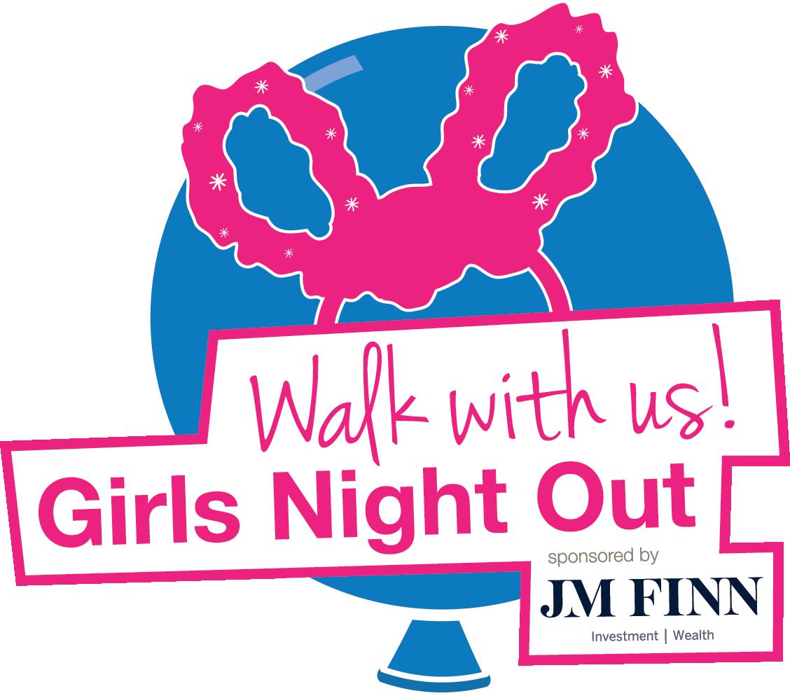 Clipart walking sponsored walk. Girls night out in