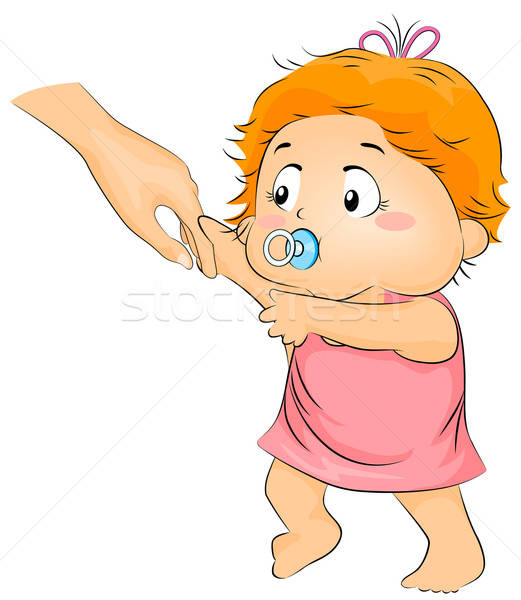 Toddler cliparts making the. Clipart walking three year old