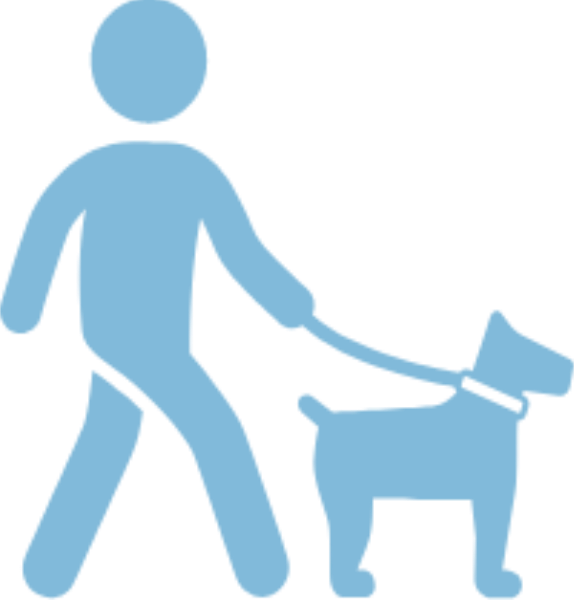 Clipart walking walk. Dog the icon full