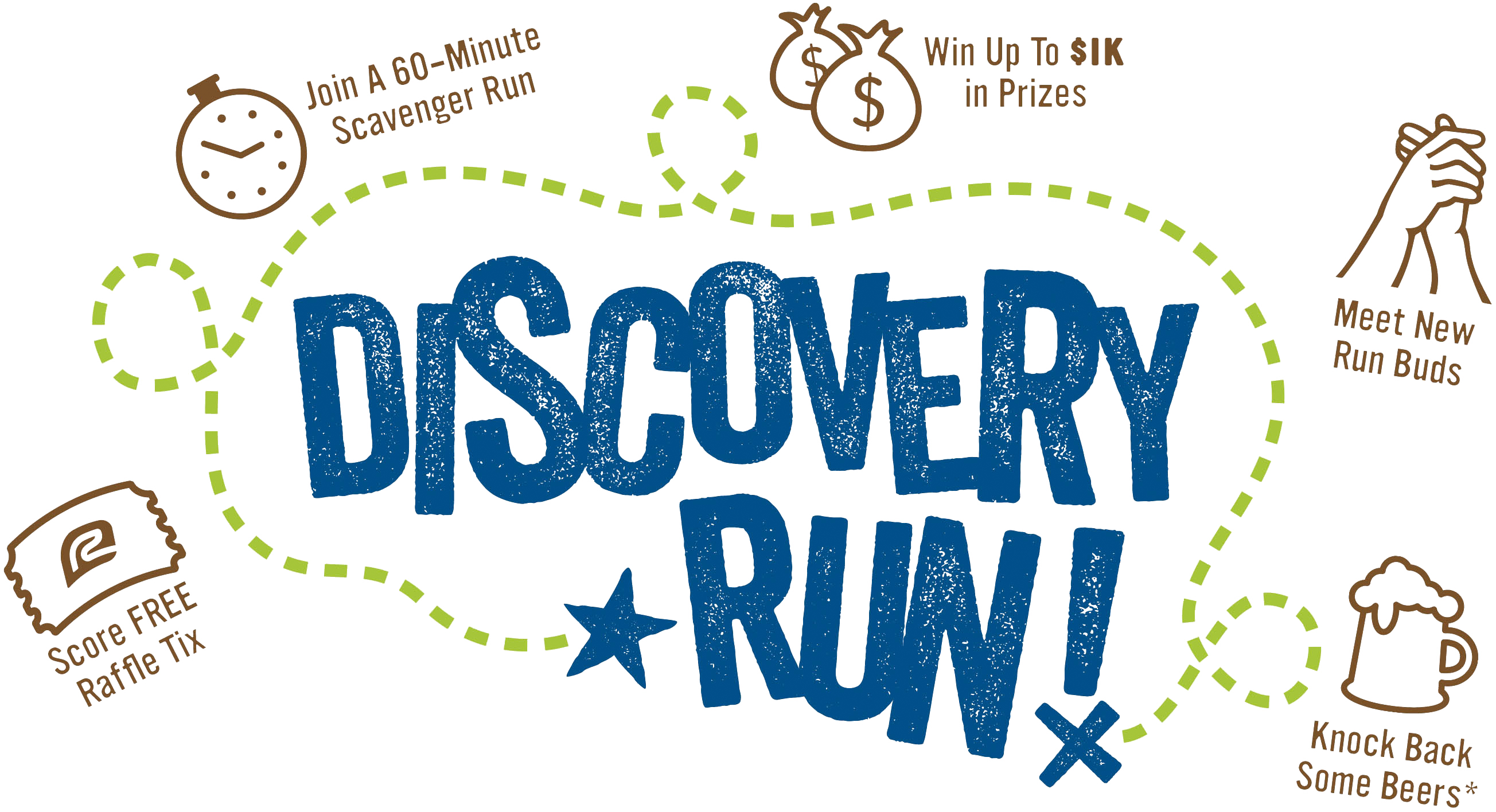 Tualatin discovery run get. Raffle clipart sport ticket