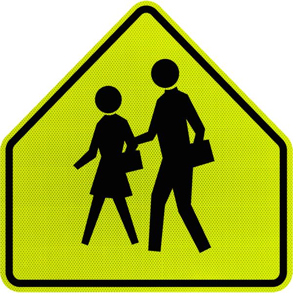 Danger crosswalk