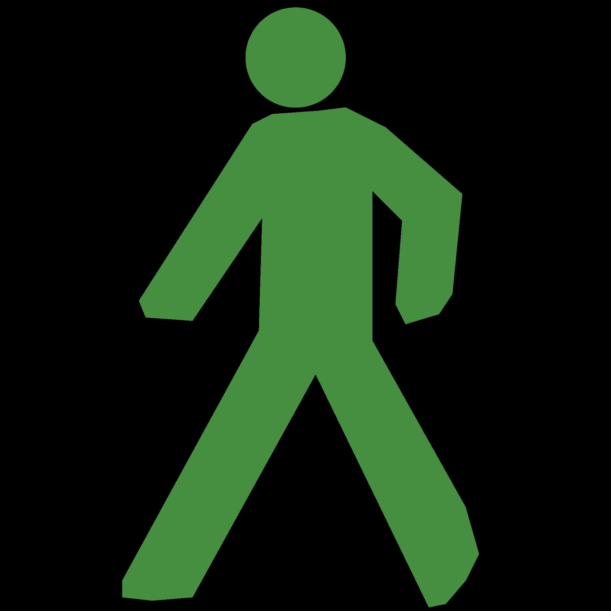 Clipart walking walk signal. File icon svg wikimedia