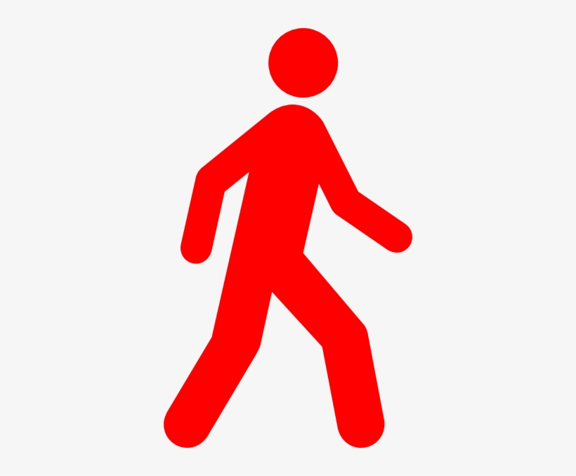Clip art at clker. Clipart walking walking away