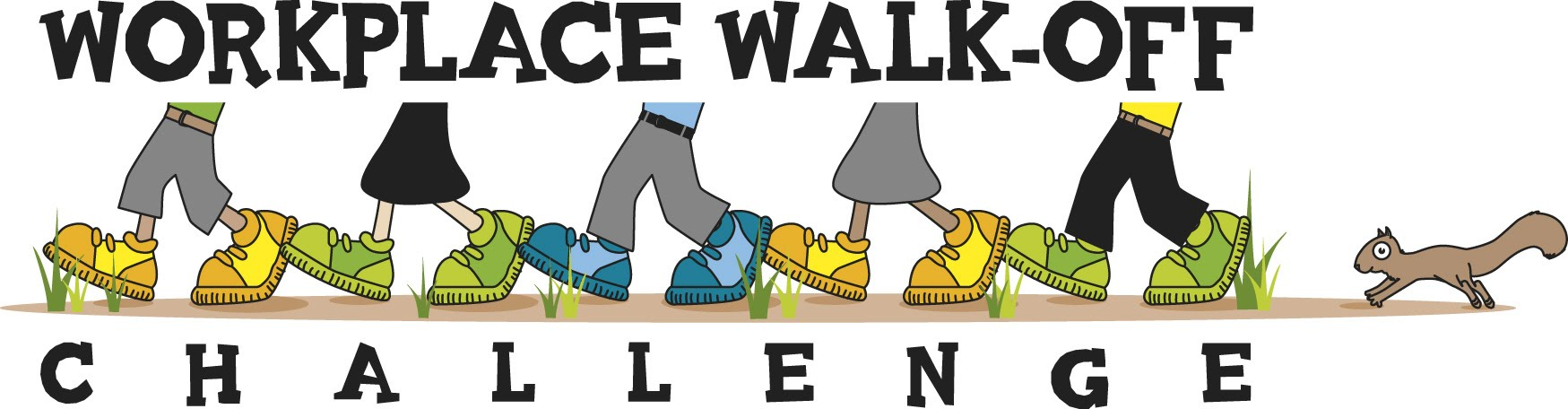 Workplace walkoff . Clipart walking walking challenge